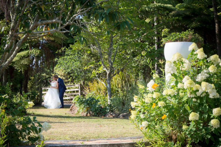 Pretty country garden for wedding photos Seronera Kerikeri