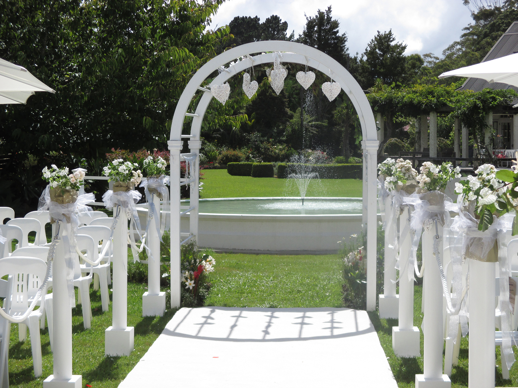 venue for weddings, family celebrations kerikeri