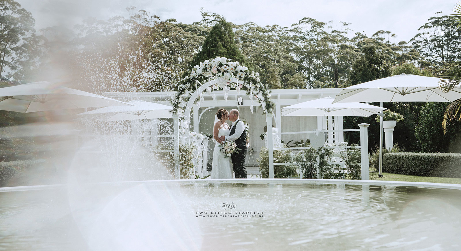 wedding at country garden kerikeri bay of islands